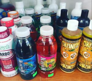 THC detox drinks