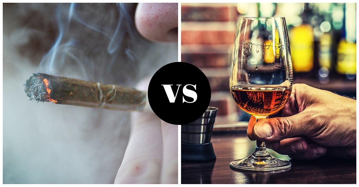Marijuana Versus Alcohol