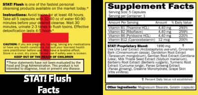 Stat Flush instructions