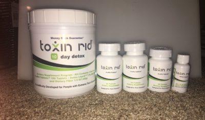Toxin Rid detox pills