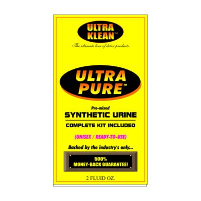 Ultra pure urine