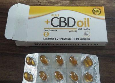 Plus CBD oil softgels