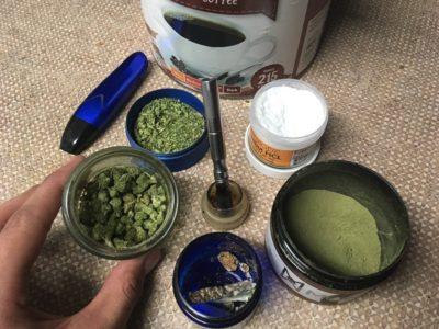 mixing kratom with phenibut